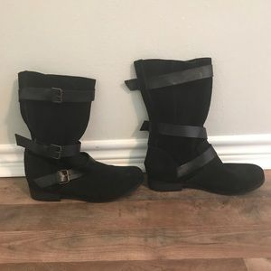 Steve Madden Boots with buckles